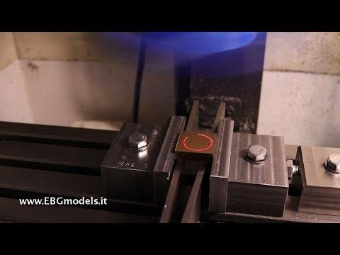 Centratore laser rotante per fresatrice o trapani a colonna per centrare fori, cilindri  e diametri