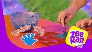 How to Make Bath Crayons! | Finger Tips | Full Episode | ZeeKay Junior