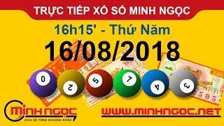 Xổ số Minh Ngọc™ Thứ Năm 16/08/2018 - Kênh chính thức từ Minhngoc.net.vn