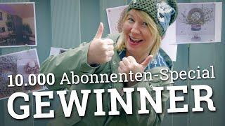 10.000 Abonnenten-Special - Gewinner