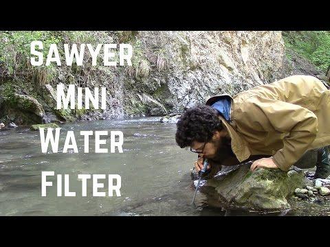 Filtro d'acqua SAWYER MINI Water Filter - Test & Review