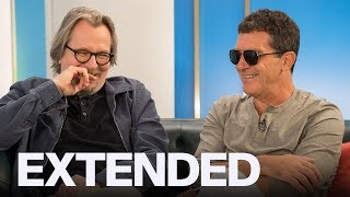 Gary Oldman, Antonio Banderas On 'The Laundromat' And Flashy Suits   EXTENDED