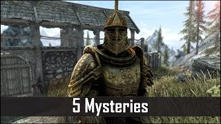 Skyrim: 5 Unsettling Mysteries You May Have Missed in The Elder Scrolls 5 (Part 6) – Skyrim Secrets