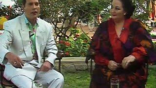 Freddie Mercury e Montserrat Caballe - Intervista a Ibiza del 1987