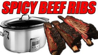 Spicy Beef Ribs in The Slow Cooker | USDA Prime