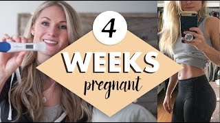 4 WEEKS PREGNANT - Early signs & Symptoms of Pregnancy and Telling my Husband
