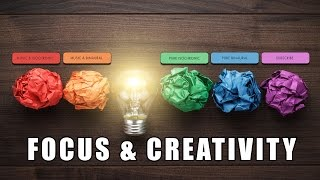 Focus & Creativity   Creative Thinking, Visualisation & Problem Solving   Binaural Beats & Iso Tones