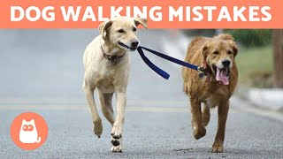 10 Common Mistakes When Walking Your Dog