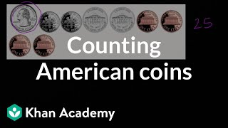Counting American Coins | Measurement And Data | Early Math | Khan Academy