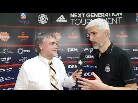 EB ANGT Belgrade Interview: Coach Lazic, U18 Partizan NIS Belgrade