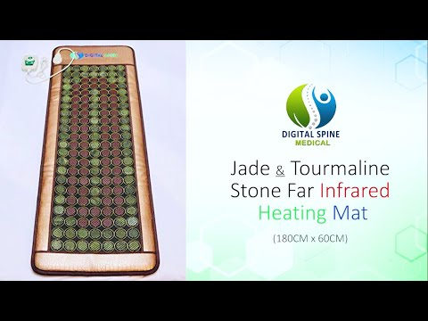 Jade Tourmaline Stones Mat