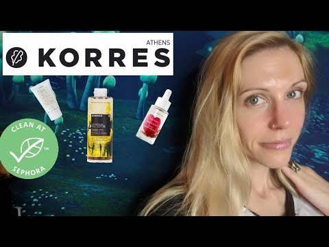 Korres: (Clean?) Greek Skincare