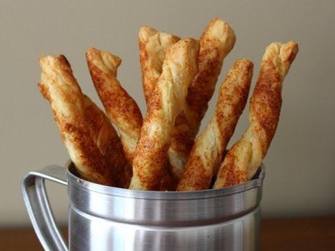 Cheese Straws – Cheesy Bread Sticks Recipe