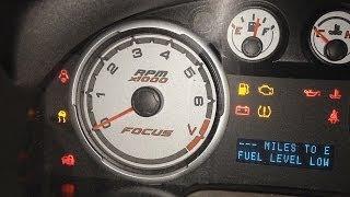 Ford Focus No Start Theft Light Blinking Easy Fix