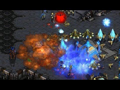 Action (Z) v Best (P) on Transistor - StarCraft  - Brood War REMASTERED 2019