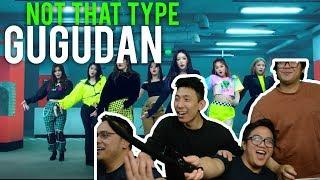 "GUGUDAN   ""NOT THAT TYPE""  (MV Reaction)"