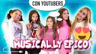 📱 ¡¡MUSICAL.LY ÉPICO Con YOUTUBERS!! 📱 ¡¡Grabamos MUSICAL.LY En La Mansión De CRAZY HAACKS!!