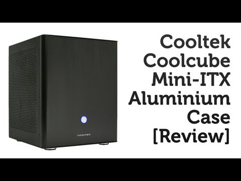 Cooltek Coolcube Mini-ITX Case Review!