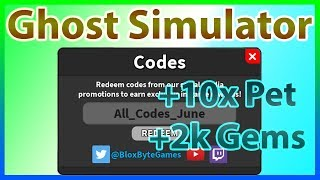 ghost simulator codes 2019