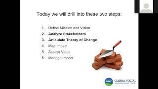 Global Social Venture Competition Webinar: Social Impact Assessment & Info Session