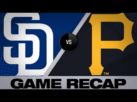 Osuna's RBI single in 7th lifts Pirates | Padres-Pirates Game Highlights 6/21/19