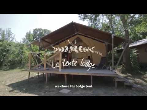 Tentes Lodge Camping Les Chamberts