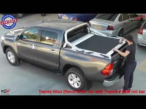 Toyota Hilux (Revo) 2016+ OEM roll bar roller lid shutter
