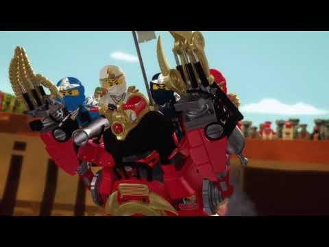 Vidéo LEGO Ninjago 70665 : Le robot samouraï