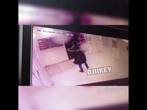 В Якутске женщина утащила из подъезда общедомовую елку