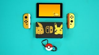 New Nintendo Switch Pokemon Let's Go Unboxing!