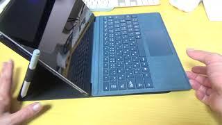 Surface Pro サンワサプライ プロテクトケースを試してみた