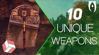 Oblivion - 10 Unique Weapons.