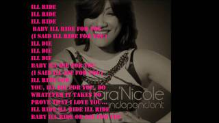Tiara Nicole - Ride or Die with lyrics