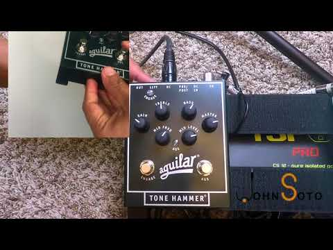 Product Review Aguilar Tone Hammer- English subtitles