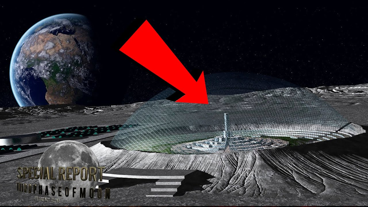 OMG!! Undeniable Moon Base Discovered! NASA Can You Explain This? Air Force UFO Chase? 2021