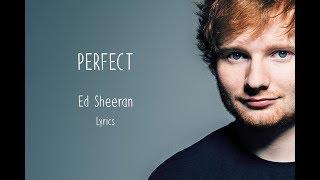 Ed Sheeran - Perfect - Lyrics - YouTube