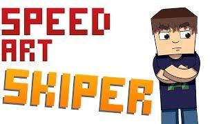 SpeedArt #7 Skiper