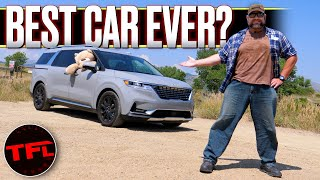 I Actually Fell In Love With the 2022 Kia Carnival Minivan - But It's Not For The Reason You Think!