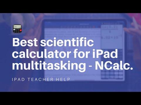 """""""Casio FX calculator on your iPad?"""" - NCalc, the best scientific calculator for iPad multitasking."""