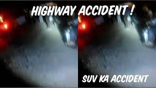 SUV CRASH ON HIGHWAY - #HIGHWAY #ACCIDENT