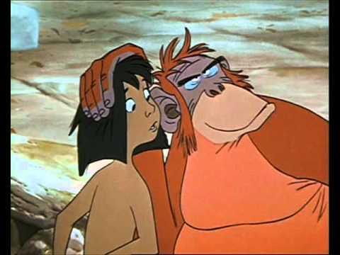 Kniha džunglí - Král opic