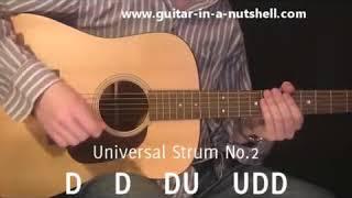 Guitar Lessons My Top 3 Guitar Strums!