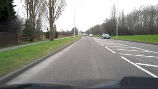 preview picture of video 'M53 Moreton Spur Greasby Road'