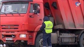 Автопоезда и грузовики попали в эпицентр внимания дорожной полиции