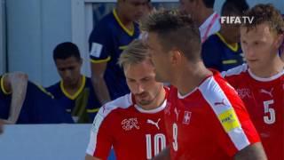 Match 10: Switzerland v Ecuador - FIFA Beach Soccer World Cup 2017