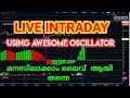 Live intraday trading| stock market malayalam |intraday strategies|stok tips malayal |trade4living