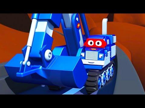 Carl  the Super Truck in Saving Baby Cars in Car City   Trucks Cartoon for kids