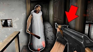 NEW SECRET WEAPON in Granny Horror Game... (Granny Mobile Horror Game New Weapon)