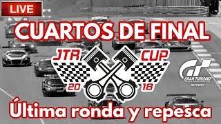 🔴 Directo de Gran Turismo Sport - JTR Cup   Cuartos de final - Última ronda y repesca