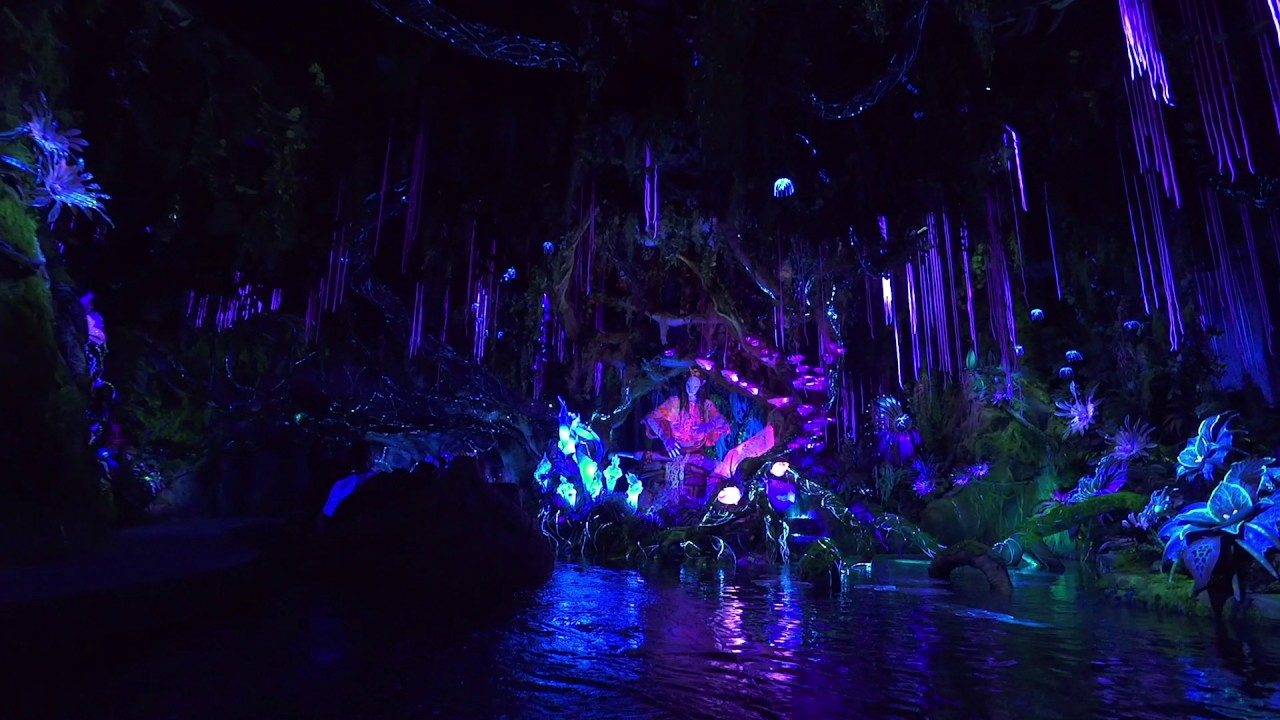 Na'vi River Journey POV complete ride through